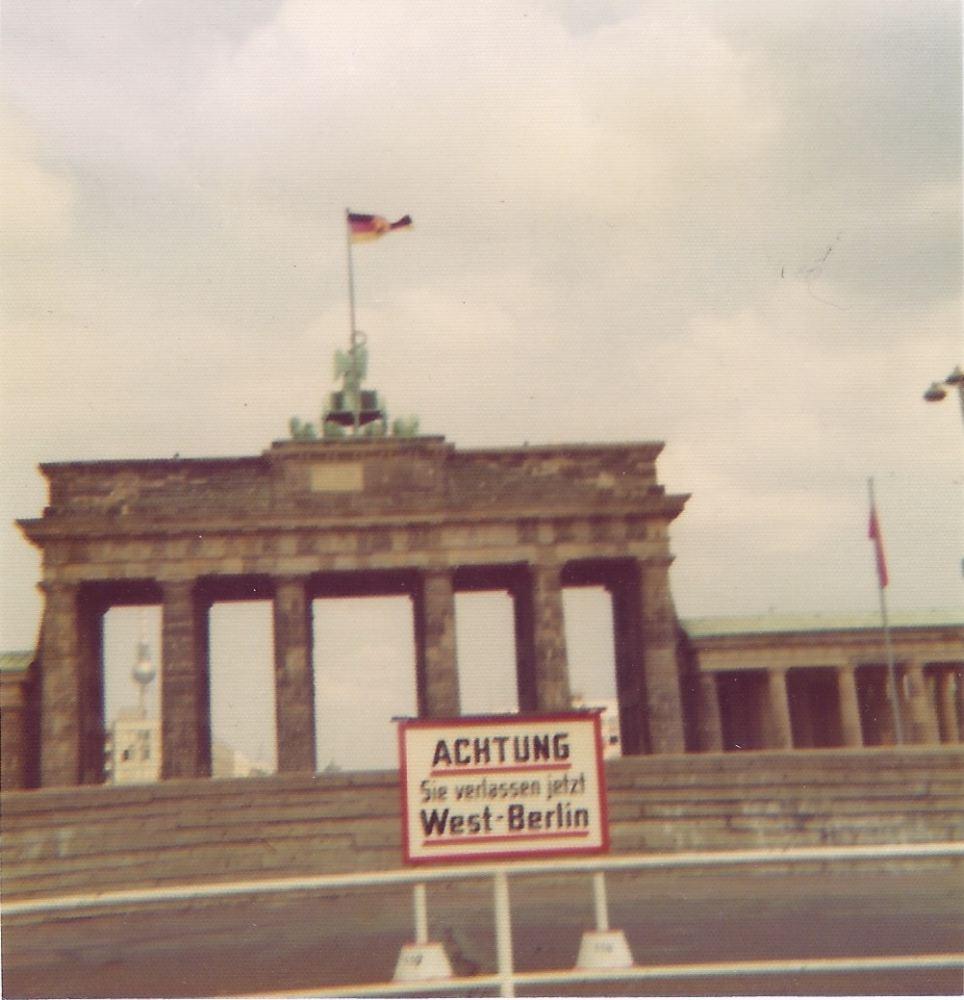 Das Brandenburger Tor 1976